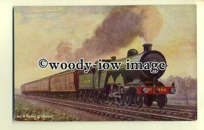 "ry1049 - L.N.E.R. ""Flying Scotsman"" No.282. Famous Express - postcard - Tuck's"