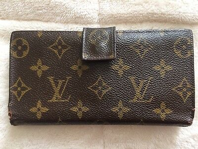 Vintage Louis Vuitton Long Wallet Free US Shipping!