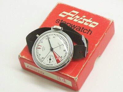Vintage Aristo Stop Watch Works Sold As Is