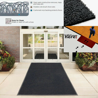NICOMAN® Shop|Retail|Industrial|Hotel|Office Frontier Easy-Clean Entrance Mat