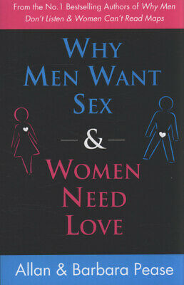 Men want sex women want love