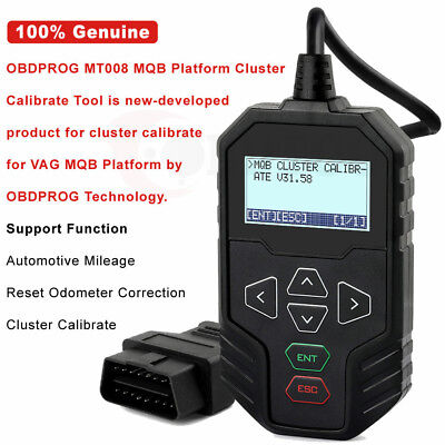 MT008 Obd Mileage Correction Tool for VAG for AUDI for VW Cluster Calibrate Tool