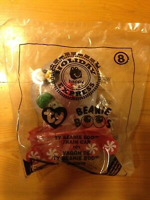 Mcdonalds Beanie Boos holidays train car #8 buy any 3 cars get one free!