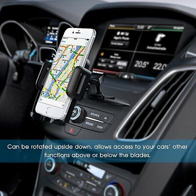 MPOW Car CD Slot Mobile Phone Holder Universal Stand Cradle Mount for GPS iPhone