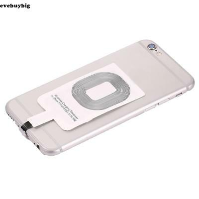 Qi Wireless Charger Adapter Charging Receiver For iPhone Samsung Andriod Type-C/