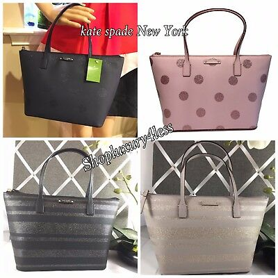 NWT Authentic KATE SPADE Small hani WKRU4914 haven lane CHOOSE COLOR 2017 LINE
