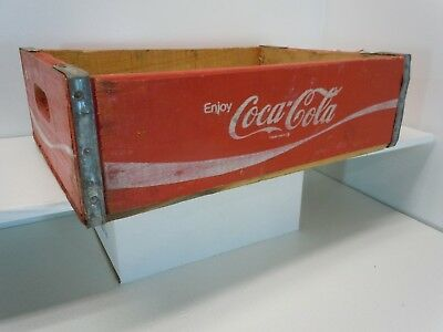 Vintage Coca-Cola Wooden Crate Carrier