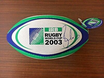 RARE Rugby World Cup 2003 mini ball hand signed by World Cup Winner BEN COHEN