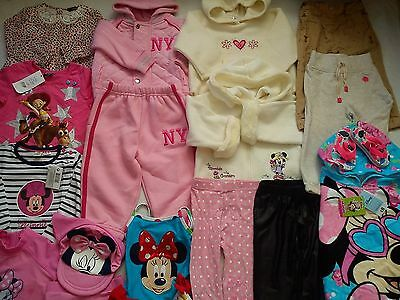 New Used Nice 30 Next Bhs Disney Store Bundle Baby Girl Clothes 12/18 Mths (4.2)
