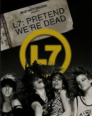 L7: Pretend We're Dead. 1 DVD & 1 Blu-ray Disc. New