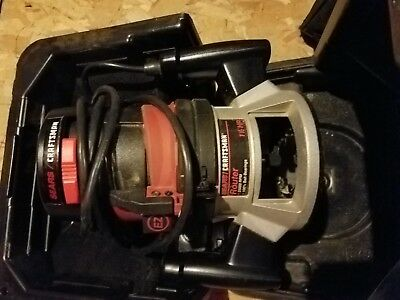 Sears/Craftsman 315.174720 Double insulated 15-25000 RPM Router - 1/1/2HP