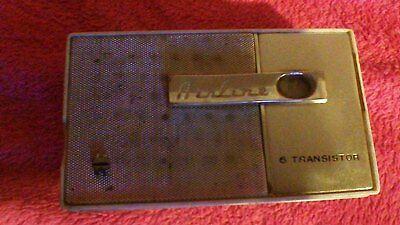 Vintage Airline 6 Transistor Pocket Radio