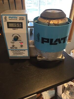 Plato SP-500T Prevision ESD Solder Pot W/ LCD Display Variable Temp Set