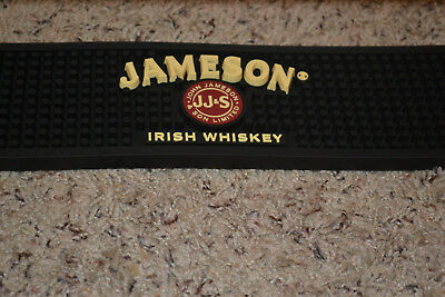 Bar Rubber Rail Spill Mat Jameson Irish Whiskey Barware Cocktail