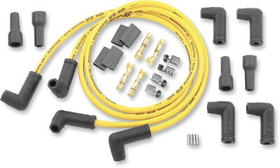 Accel Universal 8.8Mm Spark Plug Wire Set Yellow Harley Ds-242653