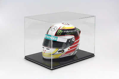 Quality Display Cabinet for Helmets on a Scale of 1: 2 Safe