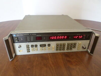 HP Agilent Keysight 8656A Signal Generator 0.1 - 990 MHz Tested Working
