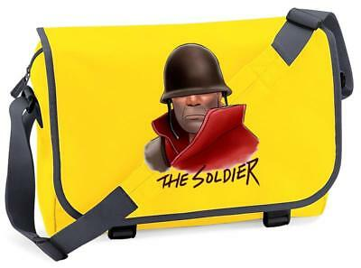 Bnwt Team Fortress Soldier Gaming Shoulder Bag School
