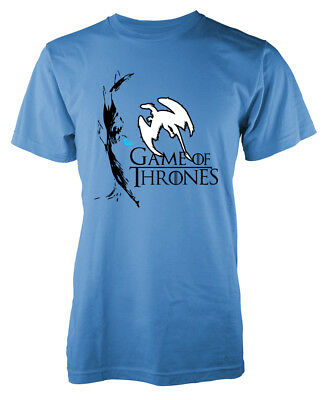 Game Of Thrones Inspired White Walker Face Ice Creature GOT Adult T Shirt