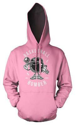 Bnwt Basketball Bomber New York Sport Harlem Hoodie Hood Kids Childs  3-12 Yrs