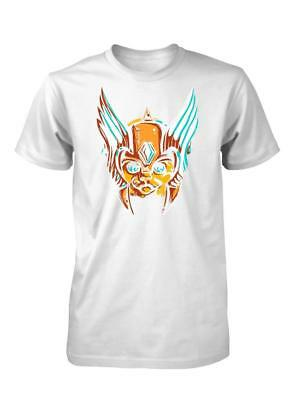 Bnwt  Cat In A Viking Winged Helmet Pussy Kitty Child T Shirt 3-15 Year