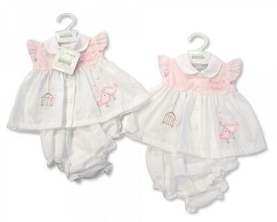 85a780ba6 PREMATURE PREEMIE BABY Girls clothes Dress and Knickers Pink 3-5lbs ...
