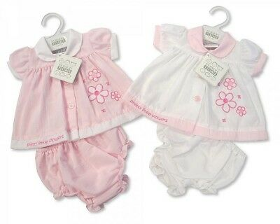 Premature Preemie Baby Girls clothes Dress and Knickers Pink 3-5lbs 5-8lb reborn