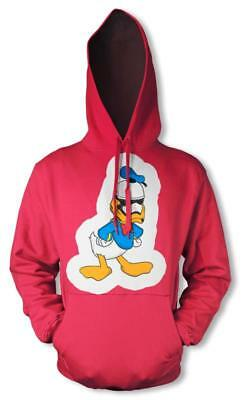 Bnwt Donald Duck Storm Trooper Mash Up Fun Hoodie Hood Kids Childrens  3-12 Yrs