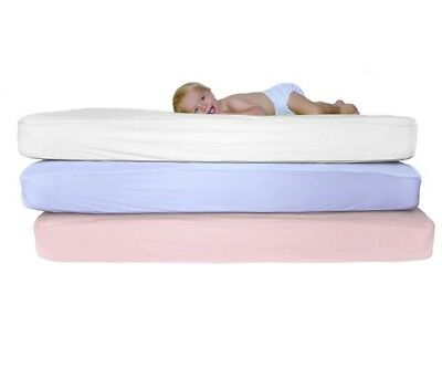 New Low Price Junior Bed 100% Cotton Soft Jersey Fitted Sheets (70 x 160 cm)