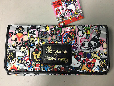 Tokidoki Hello Kitty Circus Long Wallet Limited Collection New