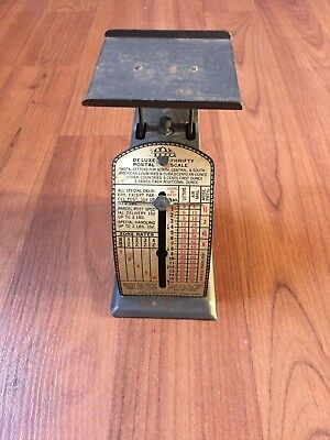 Vintage Deluxe Thrifty Postal Scale from I D L Mfg. & Sales Corp (1930's)