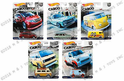 Hot Wheels 2018 Car Culture Cargo Carriers B Case Factory Sealed 10Pc Pre Order