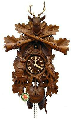On Sale Now!! Herr 136-8 Cuckoo Clock.. New! (Authentic German/black Forest)