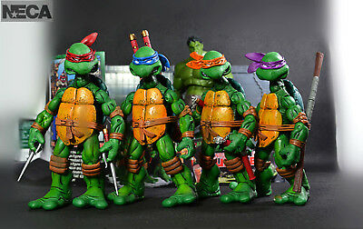 "NECA TMNT Teenage Mutant Ninja Turtles 5"" Action Figures Colorful Headband"