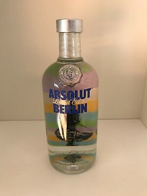 Absolut Vodka Berlin Limited Edition Nummer 128 von 200