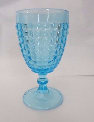 LG WRIGHT Glass THOUSAND EYE Sensation Blue Water GOBLET