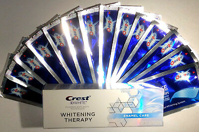 Crest3D Whitening Therapy Toothpaste + 28 Superior Onuge Teeth Whitening Strips