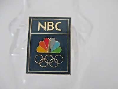 Undated Nbc Pin. Olympic Games.