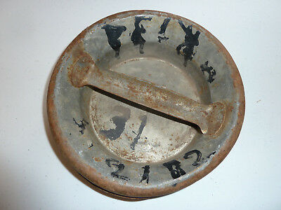 Old Vintage Dairy Milk Can Lid Top Cap from 10 Gal.
