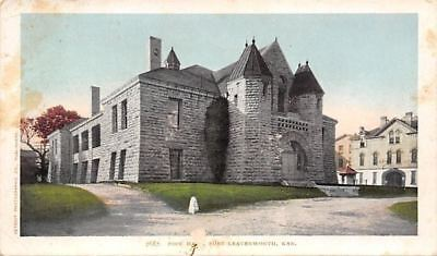 Fort Leavenworth Kansas~Pope Hall~1903 Detroit Photographic Pub Co Postcard