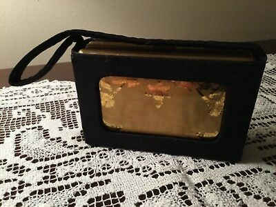 Elgin VTG  art deco style purse, evening hand bag,  carryall, clutch, minaudiere