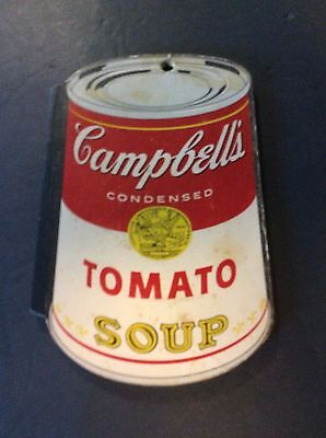FAMOUS BRANDS MEMO PAD 1970's Vintage CAMPBELL'S SOUP CAN Yellow Pages