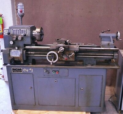Standard-Modern Tool Co. Model 1334 Metal Lathe 230V 3-Phase Company
