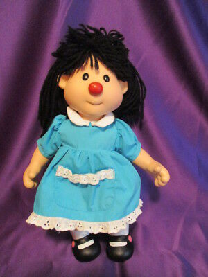 Big Comfy Couch Molly Doll 1996 Vinyl Head Arms Legs Playmates Toy