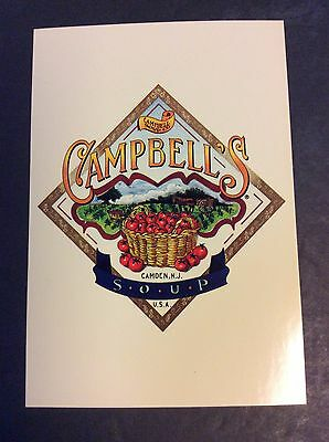 CAMPBELL'S SOUP Ad Postcard Campbell's Soup Company  1996