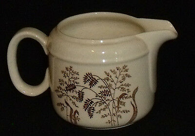 JG Meakin WINDSWEPT Creamer Brown Wheat Vtg England