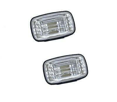 Crystal Guard Indicator Lights Clear landcruiser 76/78/79 series 2007-2015