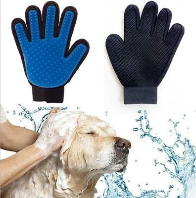 Grooming True Glove Pet Dog Cat Hair Removal Brush Touch Massage Dog Cat Bath