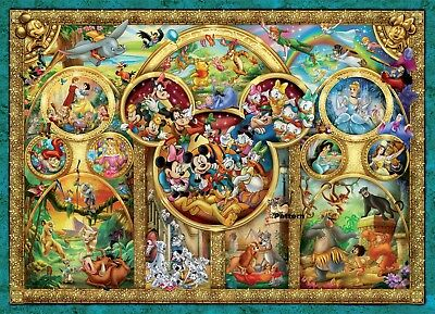Disney Characters 23 Cross Stitch Paper Pattern