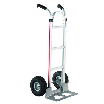 MAGLINER General Purpose Hand Truck with Double Grip Handles Pneumatic Wheels